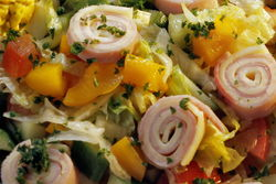 Rustikale Salate.