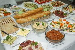 Catering bei LW-Jubiläumsfeier.