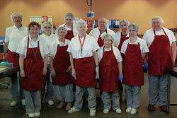 Mitarbeiter der Feinen Küche.