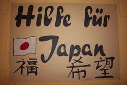 2011 starteten wir eine Spendenaktion für die Erdbebenopfer in Japan.