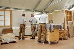 Möbelbau und Ausbau des Werkstattladens Guben.