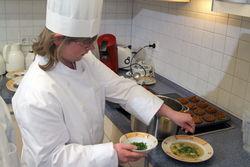 Das berufliche Angebot Küche und Kantine.